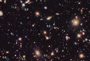 Oldest Known Galaxy